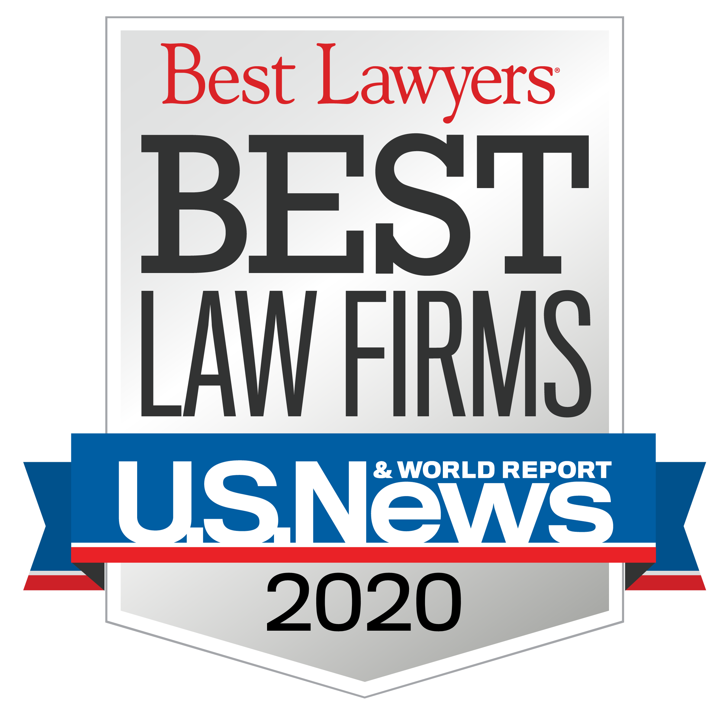 TNW was awarded Best Law Firms by Best Lawyers 2020 in the U.S. News & World Report / Best Lawyers®.
