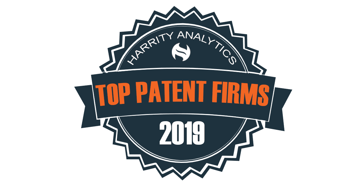 TNW was awarded Top Patent Firms by Harrity Analytics in 2019.